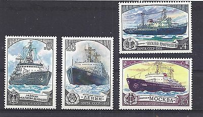 Stamps depicting Russian Ice-breaker SHIPS