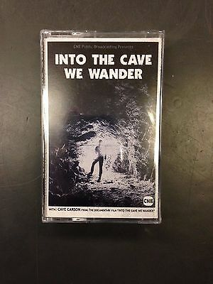 INTO THE CAVE WE WANDER PROMOTIONAL CASSETTE SEALED Gerard Way Young Animal RARE