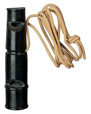 Trixie Dog Hunting & Training Buffalo Horn 2 Tone Whistle / Trill-Tone 9cm 2255