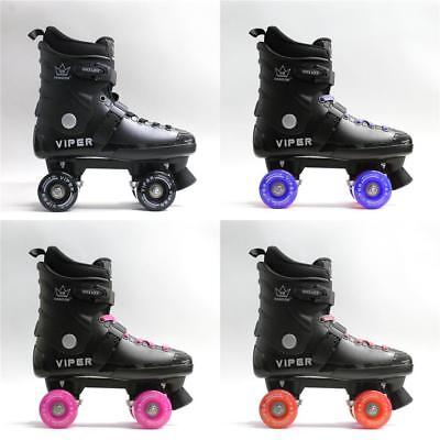 new 2017 KINGDOM GB VIPER KIDS GENTS LADIES QUAD ROLLER SKATES RRP £90 ABEC 7