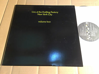 V/a - Live At The Knitting Factory New York City Volume Two - Lp - A&m Sp 5276