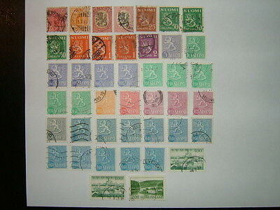 Finland Stamps Selection