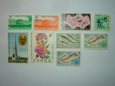 Congo Stamps Selection