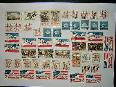 United States Stamps Selection 1
