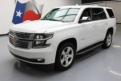2016 Chevrolet Tahoe  2016 CHEVY TAHOE LTZ SUNROOF NAV CLIMATE SEATS 20'S 43K #114838 Texas Direct