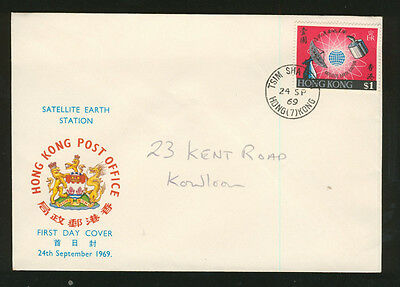 Satellite Earth Station FDC 1969