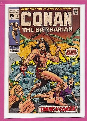 Conan The Barbarian #1_October 1970_Fine+_Fabulous First Issue_Silver Age!
