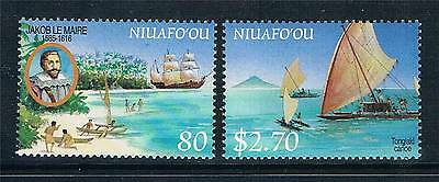 Niuafo'ou 1999 Early Explorers SG 286/7 MNH