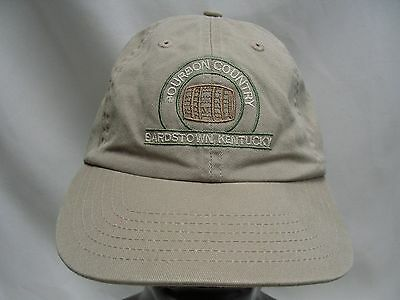 Bourbon Country - Bardstown Kentucky - Adjustable Strapback Ball Cap Hat!