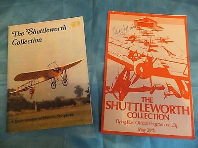 Very Rare Neil Williams Signed Raf Aerobatic Pilot Shuttlworth Programme