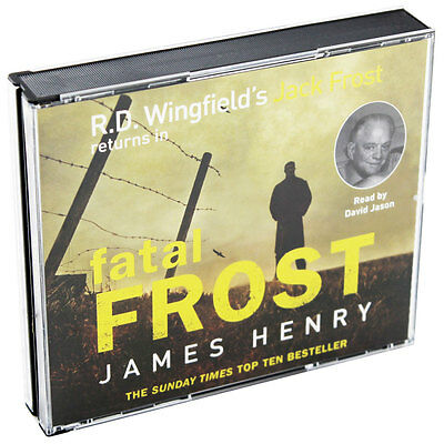 Fatal Frost - Audio Book by James Henry (Audio Book), Multibuys, Brand New