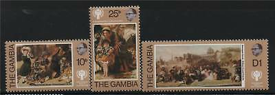 Gambia 1979 Year of the Child SG 413/5 MNH