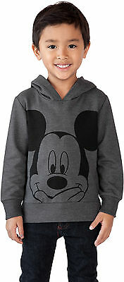Mickey Mouse Toddler Boys Pullover Hoodie Sweatshirt