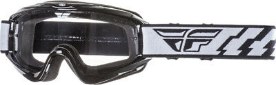 Fly Racing Focus Goggles - Black w/ Clear Lens - Youth