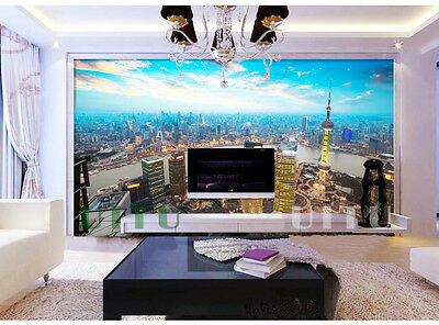 H-D Modern Style Landscape Pattern Background Bedroom Living Room WallPaper