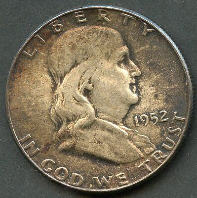 United States 1952 Franklin Half Dollar I  You Do The Grading Have Fun