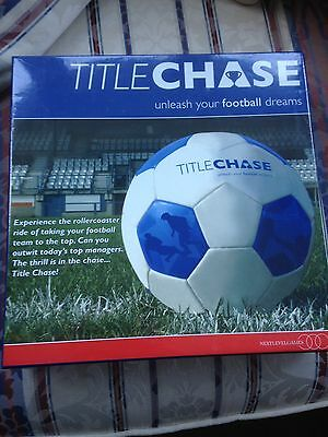 Title Chase Football Game - Brand New