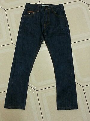 Kids Blue Jasper Conran Jeans Age 8 Adjustable Waist.