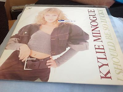 Kylie Minogue I Should Be So Lucky 12 Inch Single