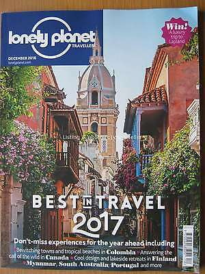 Lonely Planet Traveller December 2016 Best in Travel 2017 Colombia Canada