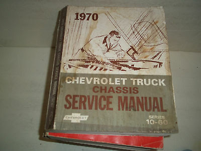 1970 Chevrolet truck factory service manual