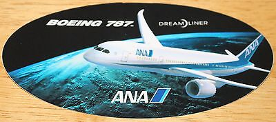 ANA All Nippon Airways (Japan) Boeing 787 Dreamliner Sticker 1