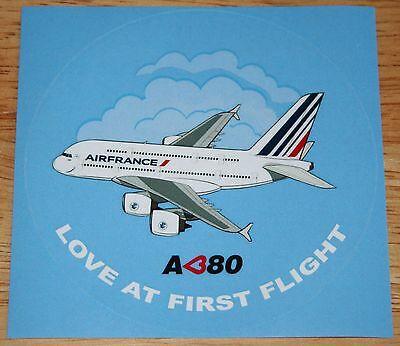 Air France Airbus A380 Airline Sticker