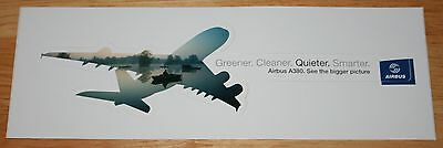 Original Airbus A380 Sticker Version 3 Quieter