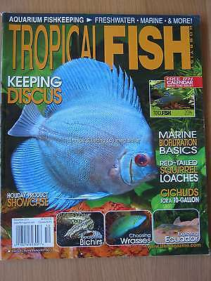 Tropical Fish Hobbyist December 2013 Discus Red-tailed Squirrel Loaches Cichlids