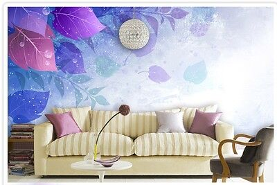 * Modern Simple Style Purple Pattern Background Living Room Bedroom WallPaper