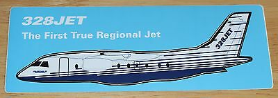 Old Dornier 328JET Airline Sticker