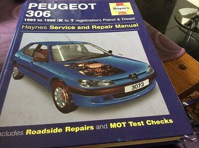 HAYNES PEUGEOT 306 , 1993 to 1999 service repair manual