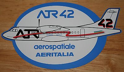 Aerospatiale/Aeritalia ATR 42 Airline Sticker