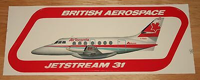 Large Air Toronto (Canada) British Aerospace Jetstream 31 Sticker