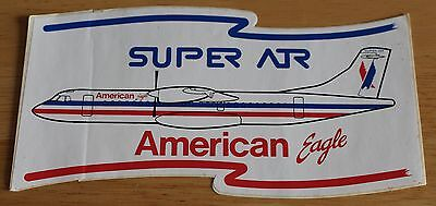 Large American Eagle (USA) ATR72 Airline Sticker