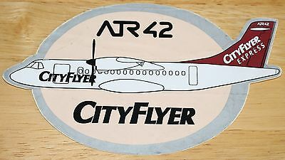Old Cityflyer Express (UK) Aerospatiale ATR42 Sticker