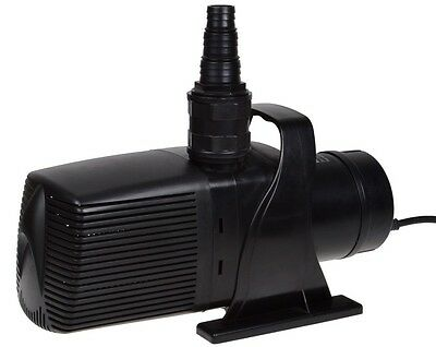 Pond Pump Water Fountain Waterfall Pump 5283 GPH Submersible Garden Pool Pump
