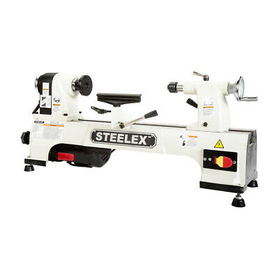Steelex ST1008 10 X 15-Inch 1/2 HP Heavy Duty Cast-Iron Benchtop Wood Lathe