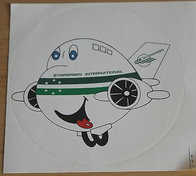 Old Evergreen International Airlines (USA) Airplane Sticker