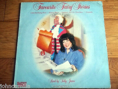 """Sally James - Favourite Fairy Stories 12"""" Lp / Record - Super Tempo - Stmp 9019"""