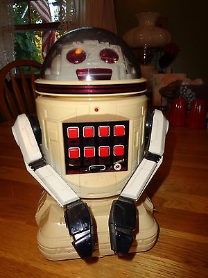 AWESOME 1980's VINTAGE TOMY VERBOT ROBOT MADE IN JAPAN