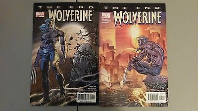 (2004) Marvel Comics Wolverine The End #1 & 2 Logan Nm Combined Shipping