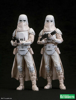Kotobukiya Artfx Snowtrooper 2 Pack 1/10 Scale Statue - New Sealed!!