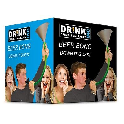 Dr!nk Inc Beer Bong Drinking Game - Funny Gift Stag Do Party Novelty Adult