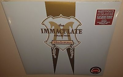 Madonna The Immaculate Collection (2017) New Sealed Limited Coloured Vinyl Lp
