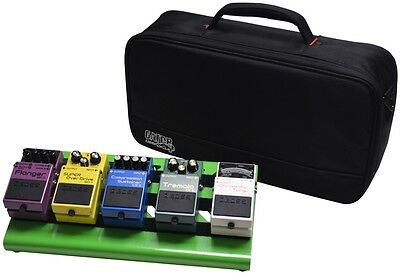 Gator Small Aluminum Pedalboard w/ Carry Bag - Gre