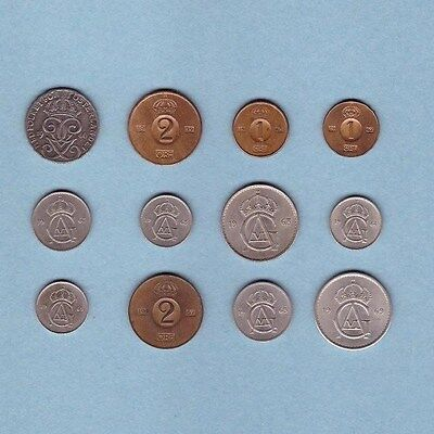 Sweden - (1946-1969) Coin Collection Lot #C - World/Foreign/Europe