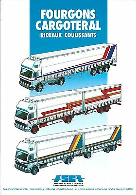 Truck Trailer Brochure - ASCA - 5 items - FRENCH language (T1938)