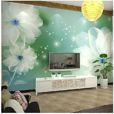 K-D Modern Simple Style Flower Pattern Background Living Room Bedroom WallPaper