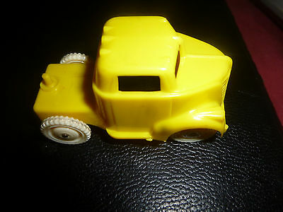 American Flyer Yellow Truck/white Wheels Stamped Allied